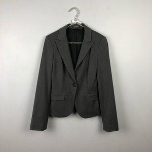 Express Gray Blazer Size 2 #1553